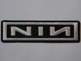 NINE INCH NAILS - WHITE LOGO
