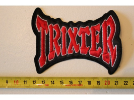 TRIXTER - RED/WHITE NAME LOGO