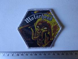MOTORHEAD - ORGASMATRON ( SILVER BORDER ) WOVEN