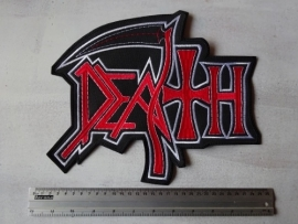 DEATH - RED/WHITE LOGO ( NEW )
