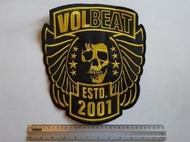 VOLBEAT - EST 2001 ( GOLD LOGO )