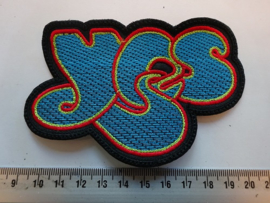 YES - BLUE/RED/YELLOW NAME LOGO