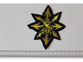 SEPULTURA - YELLOW/PURPLE STAR LOGO