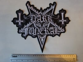 DARK FUNERAL - PENTAGRAM LOGO ( SHAPED )