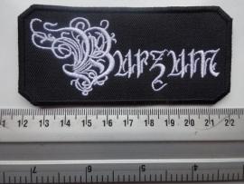 BURZUM - WHITE BELUS LOGO
