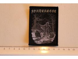 FORTERESSE - GRAVEYARD ( BLACK BORDER ) WOVEN