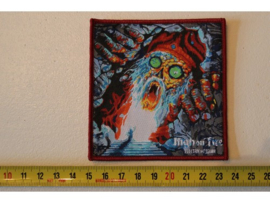 HIGH ON FIRE - ELECTRIC MESSIAH ( RED BORDER ) WOVEN