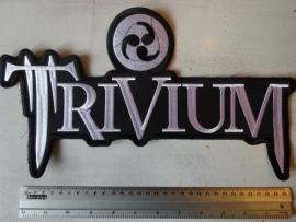 TRIVIUM - WHITE LOGO