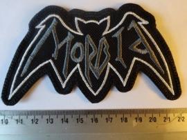 MORBID - GREY BAT LOGO
