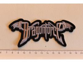 DRAGONFORCE - GREY NAME LOGO, LAST COPY