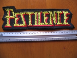 PESTILENCE - RED/YELLOW LOGO