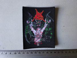 DARK ANGEL - LEAVE SCARS ( BLACK  BORDER ) WOVEN