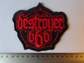 DESTROYER 666 - RED LOGO