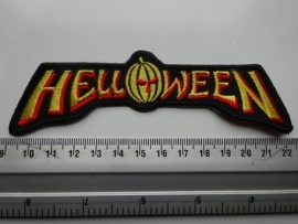 HELLOWEEN - RED/YELLOW LOGO