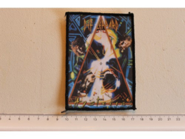 DEF LEPPARD - HYSTERIA,  ORIGINAL 1987  ( BLACK BORDER ) PRINT