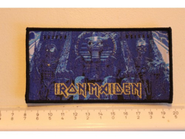 IRON MAIDEN - POWERSLAVE ( BLACK BORDER ) WOVEN