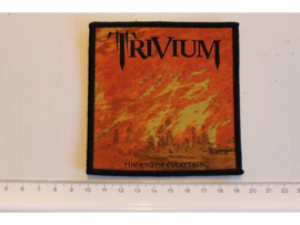 TRIVIUM - THE END OF EVERYTHING ( BLACK BORDER ) WOVEN