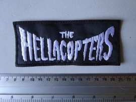 THE HELLACOPTERS - WHITE NAME LOGO