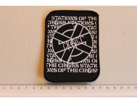 CRASS - STATIONS OF THE CRASS ( ORIGINAL 80'S ) PRINT