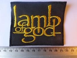 LAMB OF GOD - GOLD LOGO