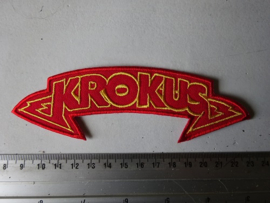 KROKUS - RED/YELLOW LOGO