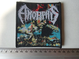 AMORPHIS - THE KARELIAN ISTHMUS BLACK BORDER