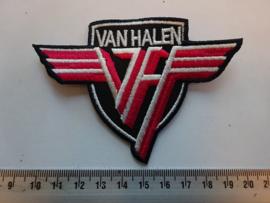 VAN HALEN - WHITE NAME LOGO + VH
