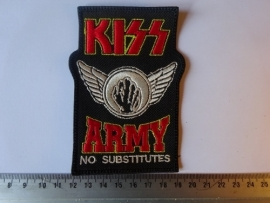 KISS - ARMY ( NO SUBSTITUTES )