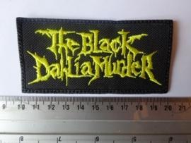 THE BLACK DAHLIA MURDER - YELLOW LOGO