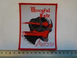 MERCYFUL FATE - MELISSA ( RED BORDER ) WOVEN