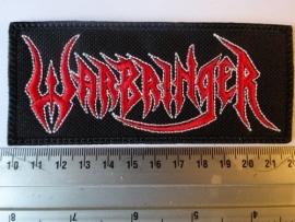 WARBRINGER - RED/WHITE LOGO