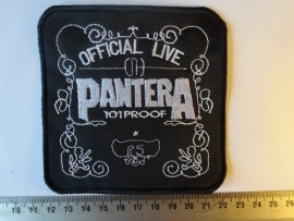 PANTERA - OFFICIAL LIVE 101 PROOF