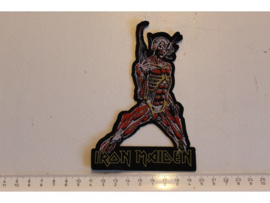 IRON MAIDEN - SOMEWHERE IN TIME ( LASERCUT ) WOVEN