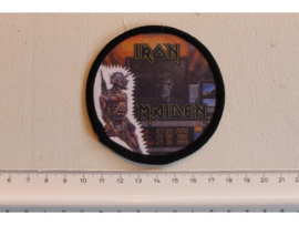 IRON MAIDEN - WASTED YEARS ( BLACK BORDER ) PRINT