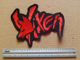 VIXEN - RED LOGO + FOX