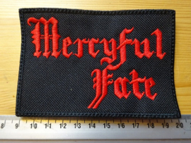 MERCYFUL FATE - RED LOGO