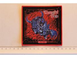 MERCYFUL FATE - DEAD AGAIN ( RED BORDER ) WOVEN