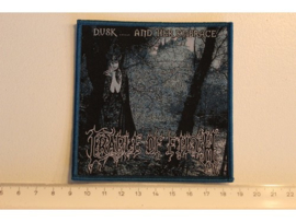 CRADLE OF FILTH - DUSK... AND HER EMBRACE ( BLUE BORDER ) WOVEN