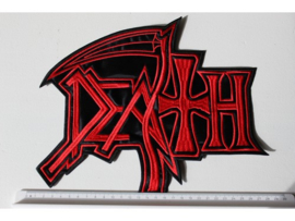 DEATH - RED NEW LOGO