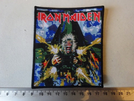 IRON MAIDEN - TAILGUNNER BLACK BORDER LIMITED (WOVEN) NUMBERD
