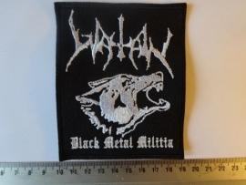 WATAIN - BLACK METAL MILITIA ( WHITE )