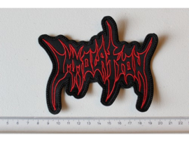 IMMOLATION - RED/BLACK NAME LOGO