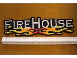 FIREHOUSE - WHITE NAME LOGO