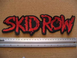 SKID ROW - RED LOGO