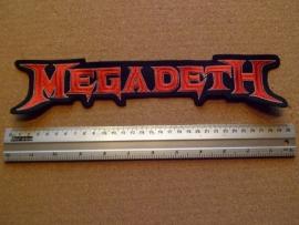 MEGADETH - RED LOGO