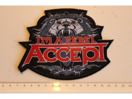 ACCEPT - I'M A REBEL ( PRINT )
