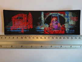 DEATH - SCREAM BLOODY GORE ( BLACK BORDER ) WOVEN