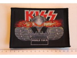 KISS - WORLD TOUR ( WOVEN ) ORIGINAL