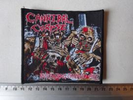 CANNIBAL CORPSE - BUTCHERING CHICAGO 1992 BLACK BORDER