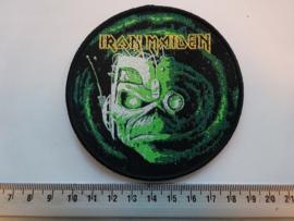 IRON MAIDEN - STRANGER IN A STRANGE LAND ( BLACK BORDER ) WOVEN